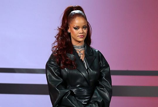 Rihanna's Leather Looks – Iconic Outfits