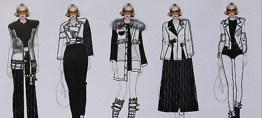 China Design Student: Chen Jiayu on the highway to bringing 70's punk back to the runway