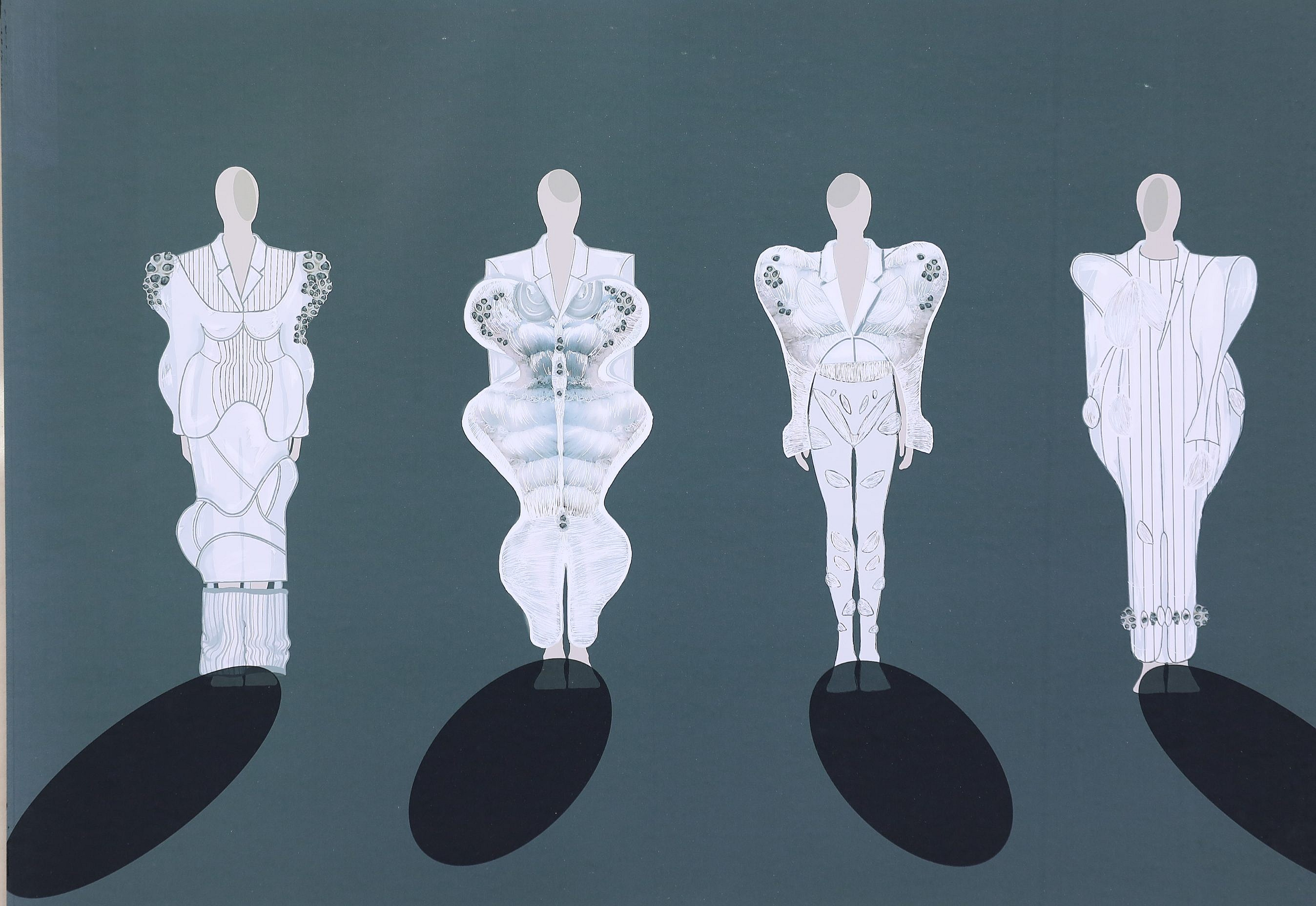 Chinese leather design competition: Wu Jingling's androgynous alien submission out of this world