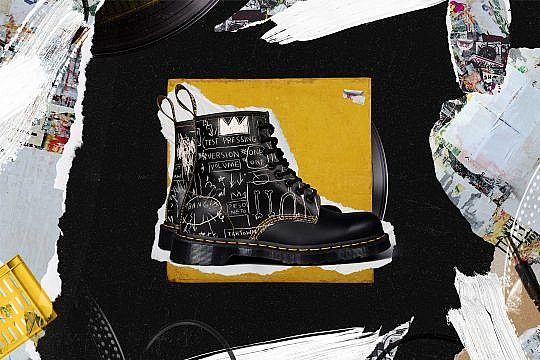 Basquiat and Dr Martens mash up brings ultimate style to classic footwear