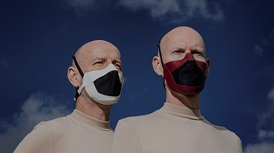 Leather Face Masks by Whitaker Malem