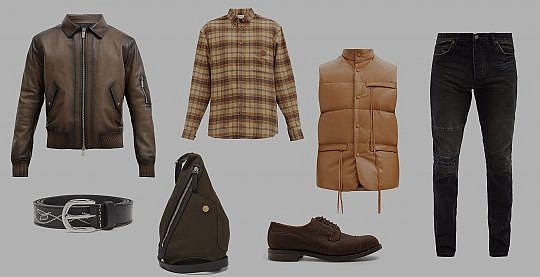 Celebrate with these menswear Holiday inspired Leather Loves!