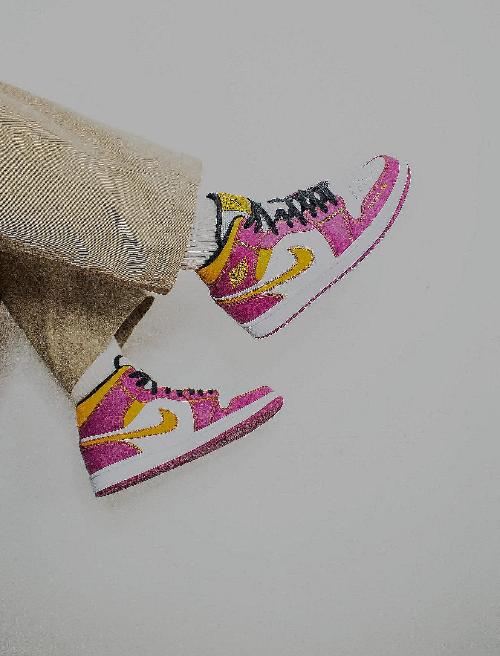 GOING SOLE TO SOLE: SNEAKER CUSTOMISERS IN LONDON