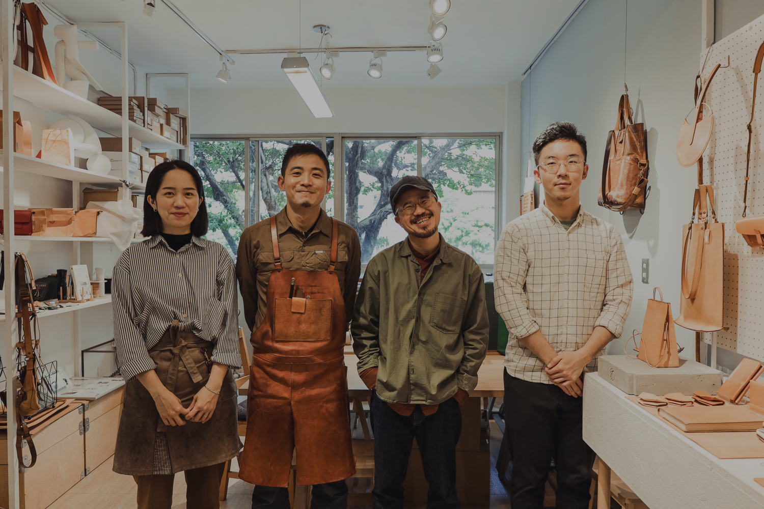 Handmade Leather Brand GreenRoom in Taiwan Offers Quality and Goods in Life