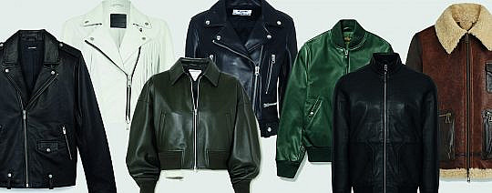 Transitional Leather Jackets to Buy Now and Wear Forever