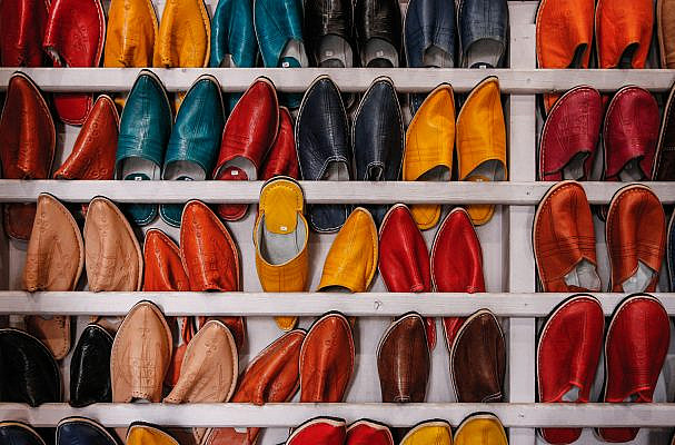 The history of leather shoes